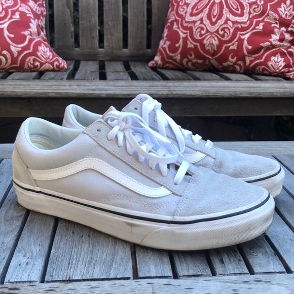 Light Grey Suede Old Skool Vans | Poshmark
